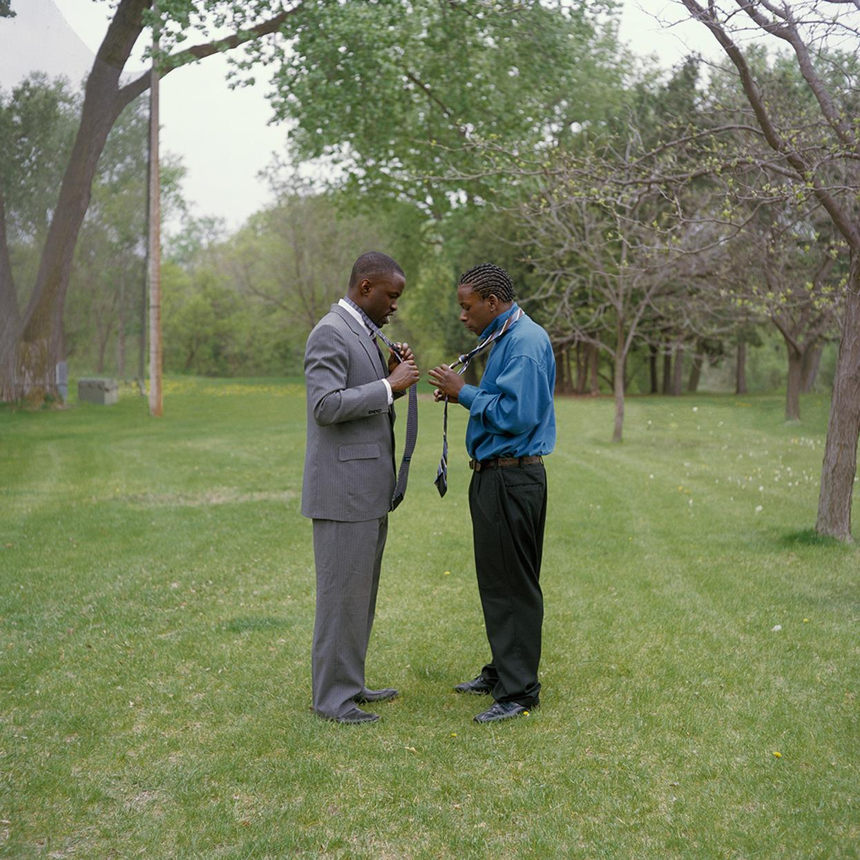 Obed and Moe, © Amy Anderson, Minneapolis, Minnesota, Santa Fe Photographic
