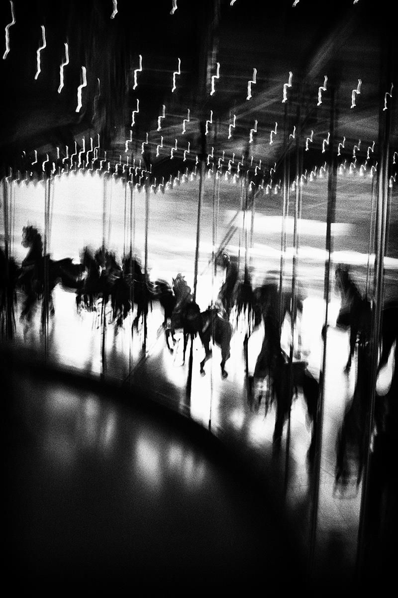 Carousel Raceway, © Joe Puglisi, New Paltz, NY, Third Prize, Santa Fe Photographic — Summer vacation