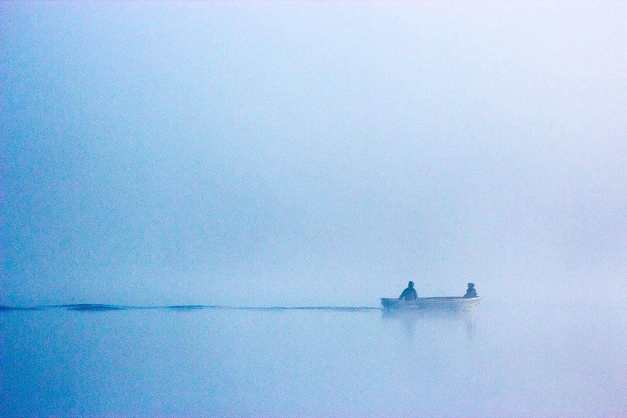Fishing in the Fog, © Kimerly Miller, Saint Paul, MN, Santa Fe Photographic — Summer vacation