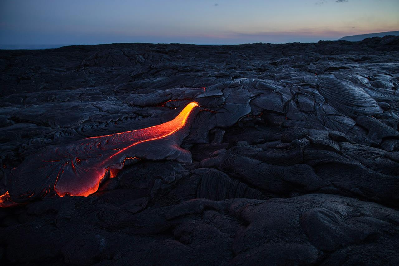 Lava Flow, © David Ellis, St. Paul, MN, Santa Fe Photographic — Summer vacation