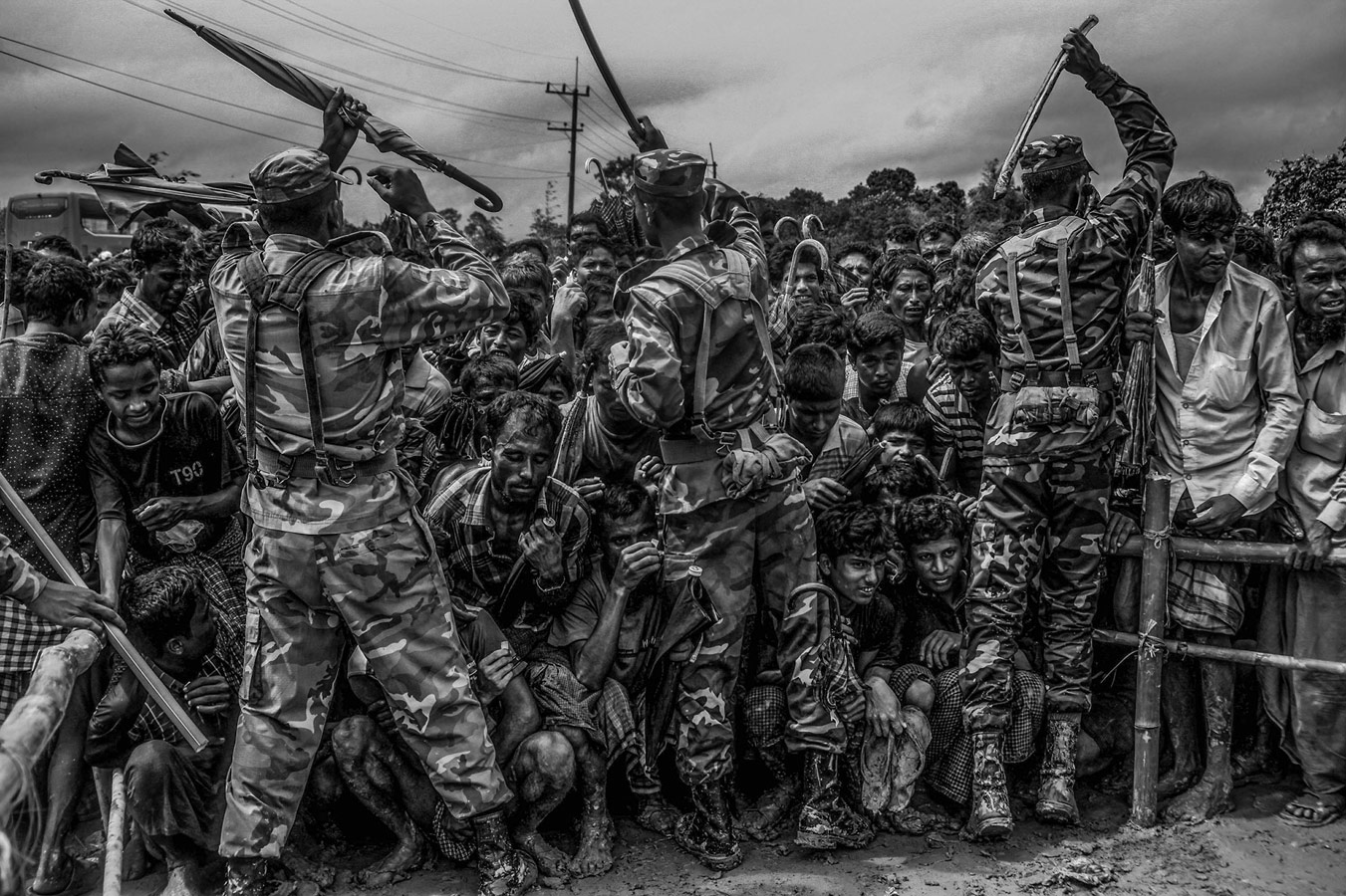 Life Inside the Refugee Camp, © Mohd Samsul Mohd Said, 1st Place, Current Affairs & News : Professional, Sony World Photography Awards