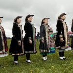 Mari People in the Ural Region Wearing Traditional Costumnes, © Fyodor Telkov, Russia, 3rd place : Portrait. A Hero of Our Time : Series, Andrei Stenin International Press Photo Contest