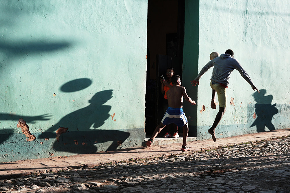 Street Football, © Maria Plotnikova, Russia, 2nd place : Sports : Single, Andrei Stenin International Press Photo Contest