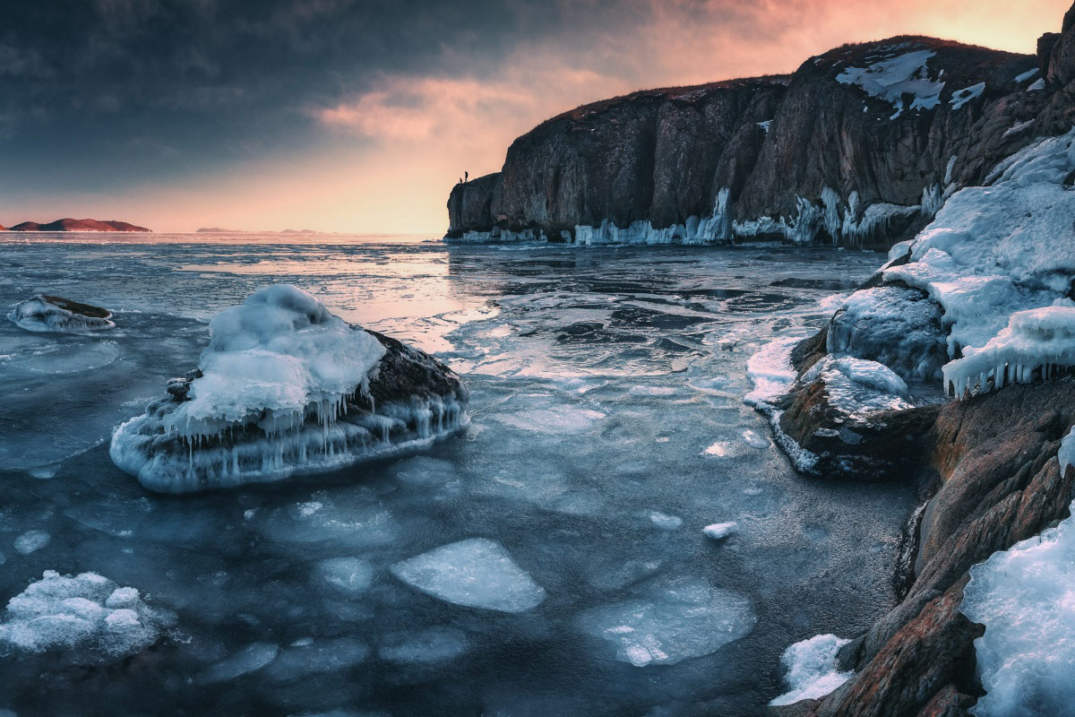 Russia. The coast of the Sea of Japan, © Andrey Krovlin, Finalist in the nomination Nature, Science Elements Photo Contest