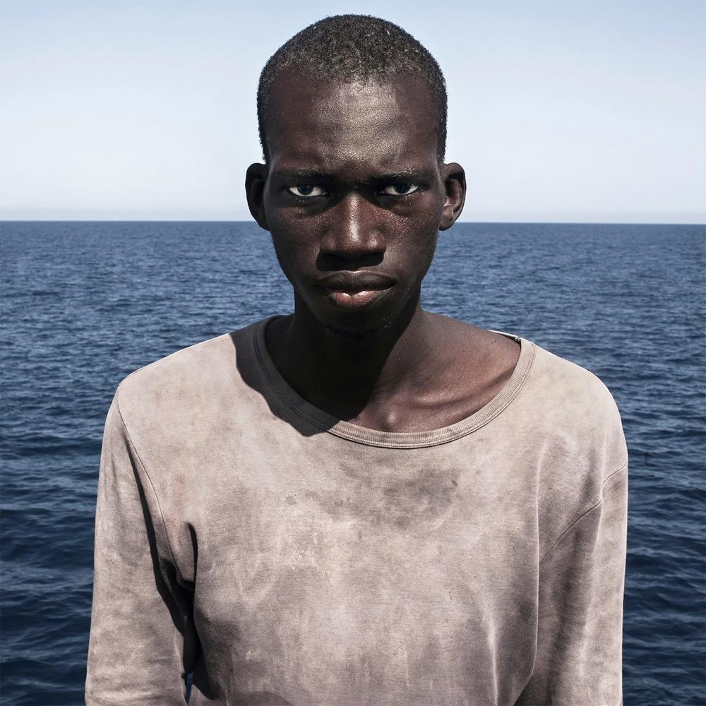 Amadou Sumaila, © César Dezfuli, First Prize, Taylor Wessing photographic Portrait Prize