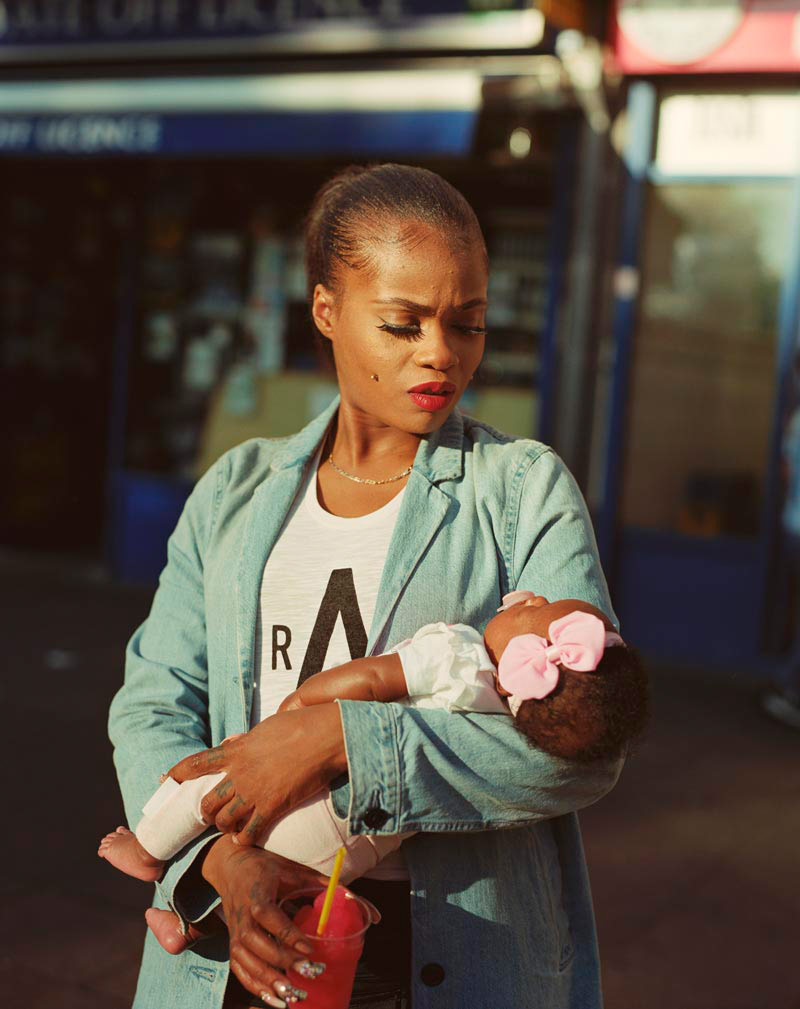Cybil Mcaddy with Daughter Lulu, © Enda Bowe, Second Prize, Taylor Wessing Photographic Portrait Prize