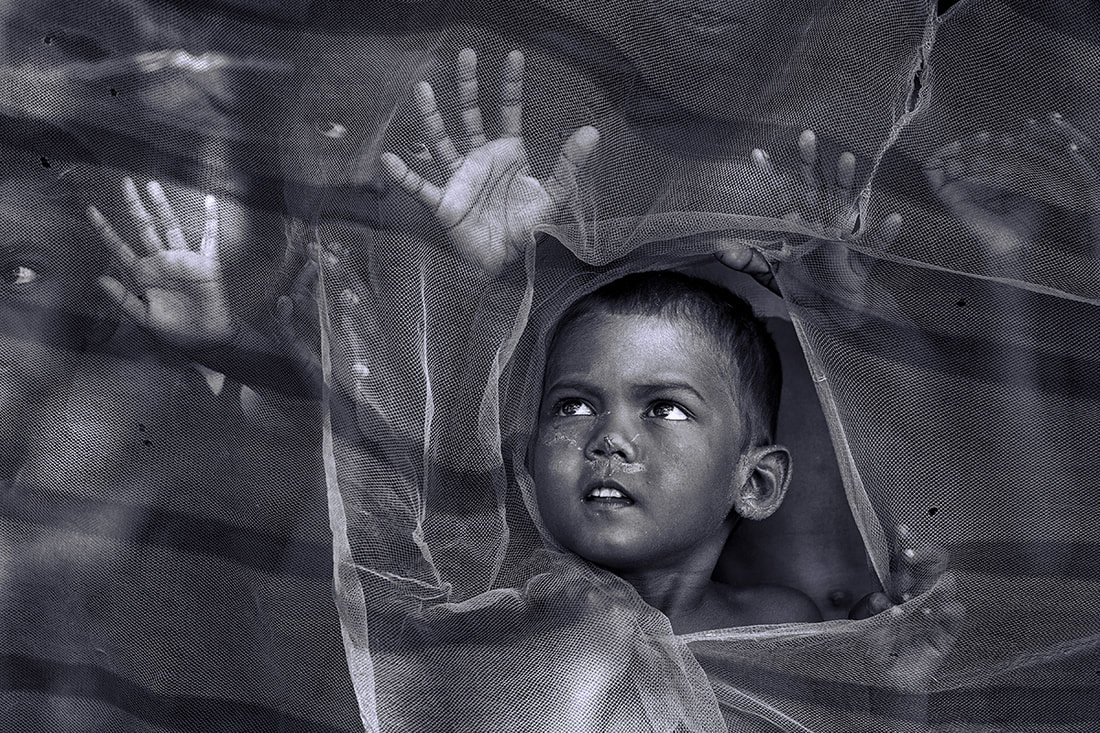 Reaching Out, © Sanghamitra Sarkar, First Place Winner, Black and White Photography Competition by The Motif Collective