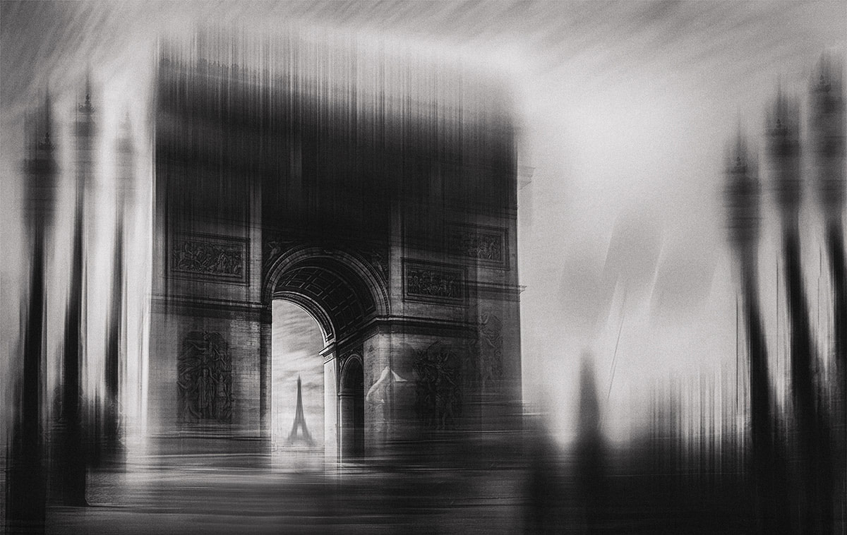 Triumphal Arch, © Oussama Mazouz, Blagnac, France, Honorable Mention Winner, Black and White Photography Competition by The Motif Collective