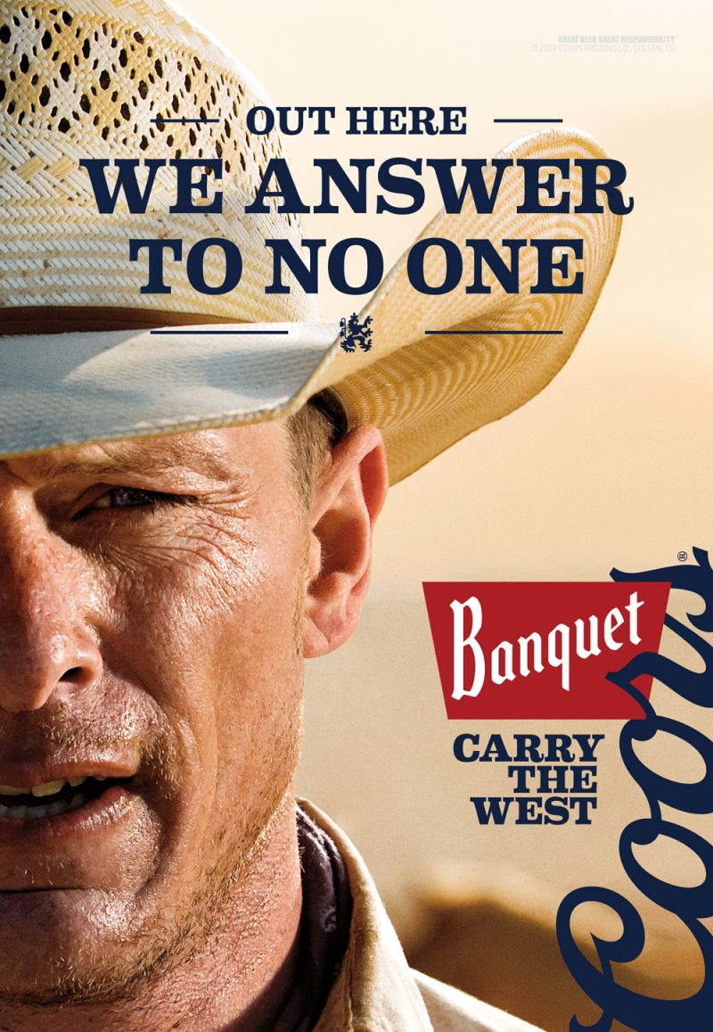 Carry The West-Coors Banquet Beer, © Jim Krantz, United States, 1st Place, Tokyo International Foto Awards