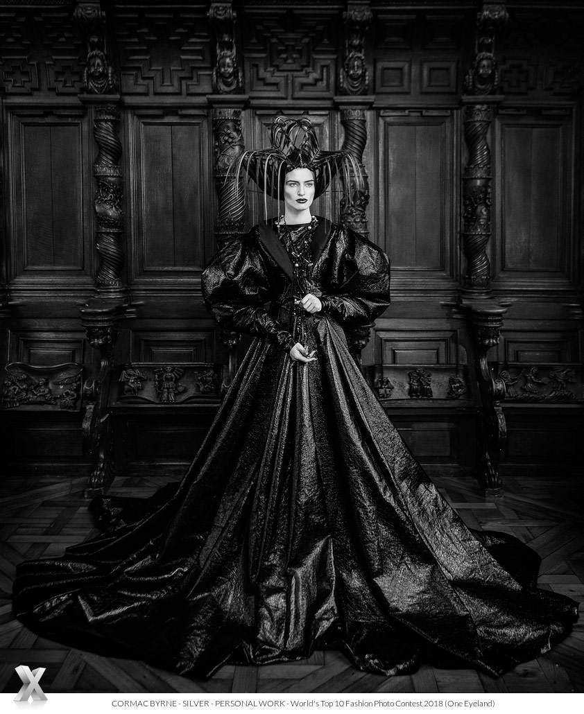 Queen Catherine, © Cormac Byrne, Silver Personal Work, World's Top 10 Fashion Photographers - Photo Contest