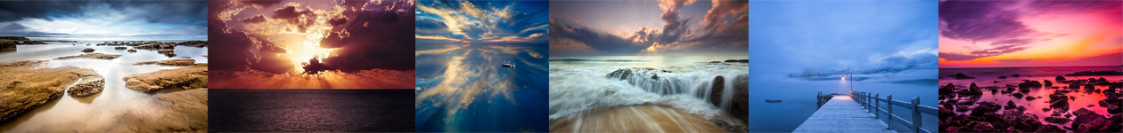 Seascape Moods by The Photographic Angle