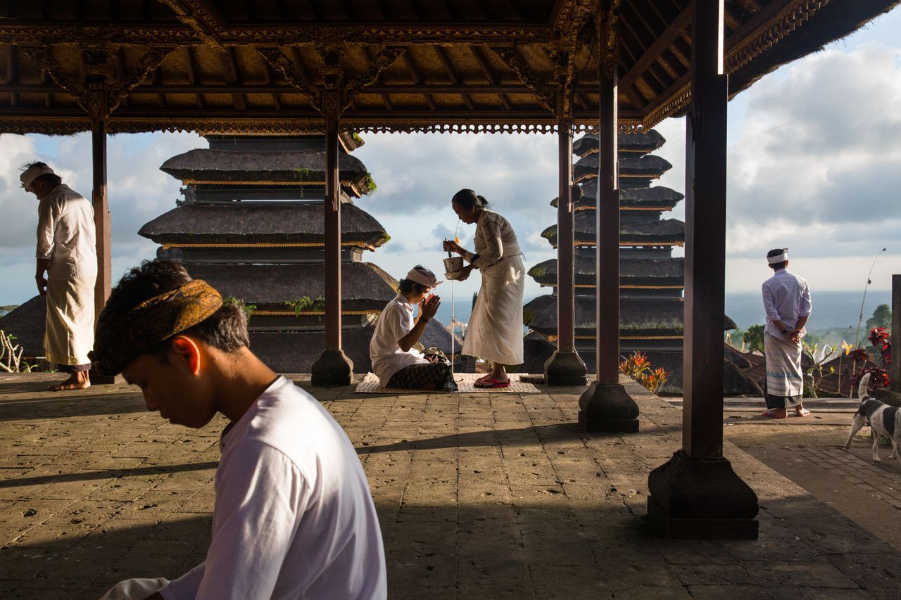 Blessings At Besakih, © Michael Dean Morgan, Honorable Mention, People, National Geographic Travel Photographer of the Year