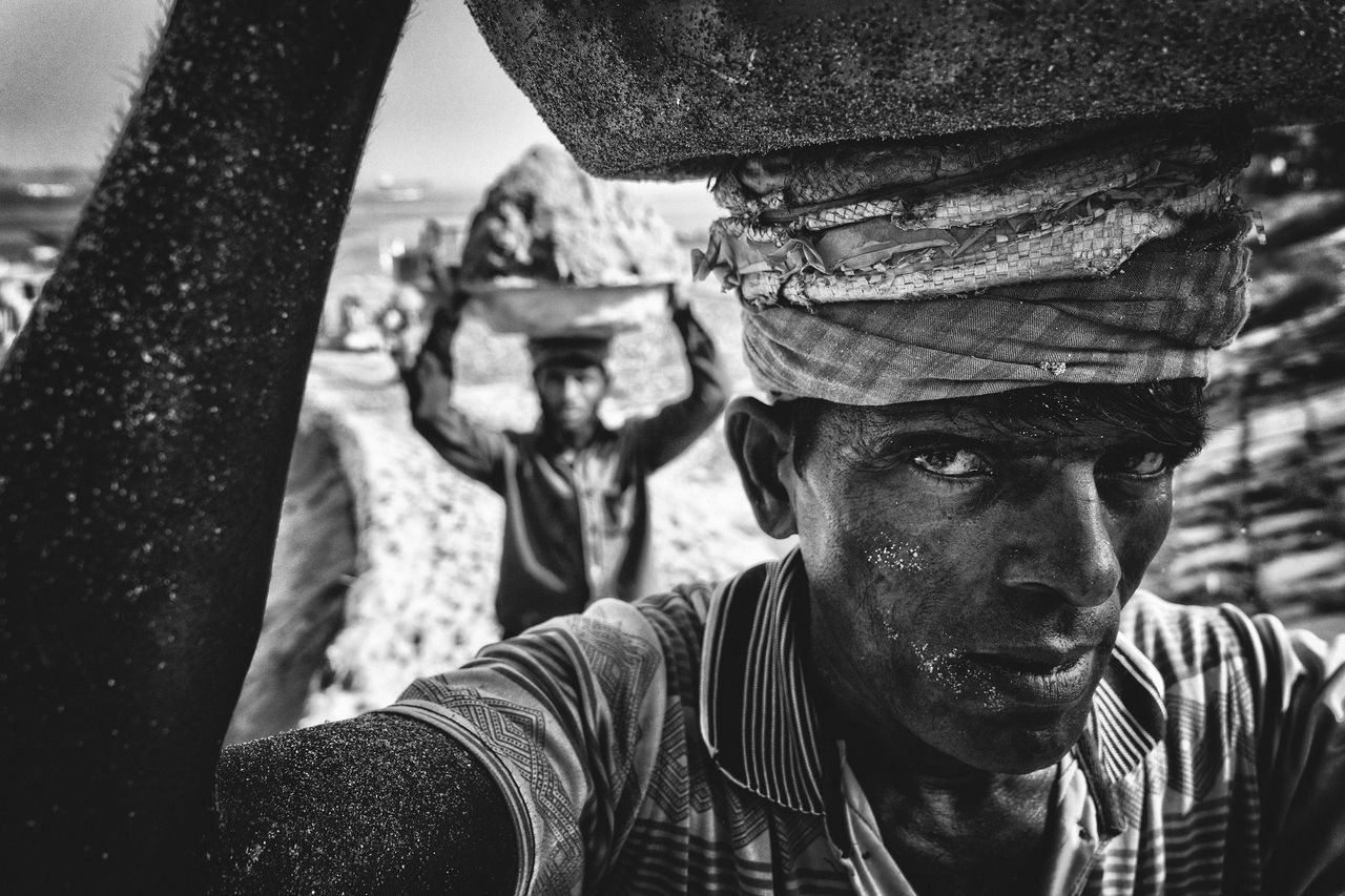 Sand Porter, © Md Tanveer Hassan Rohan, People's Choice Winner, People, National Geographic Travel Photographer of the Year