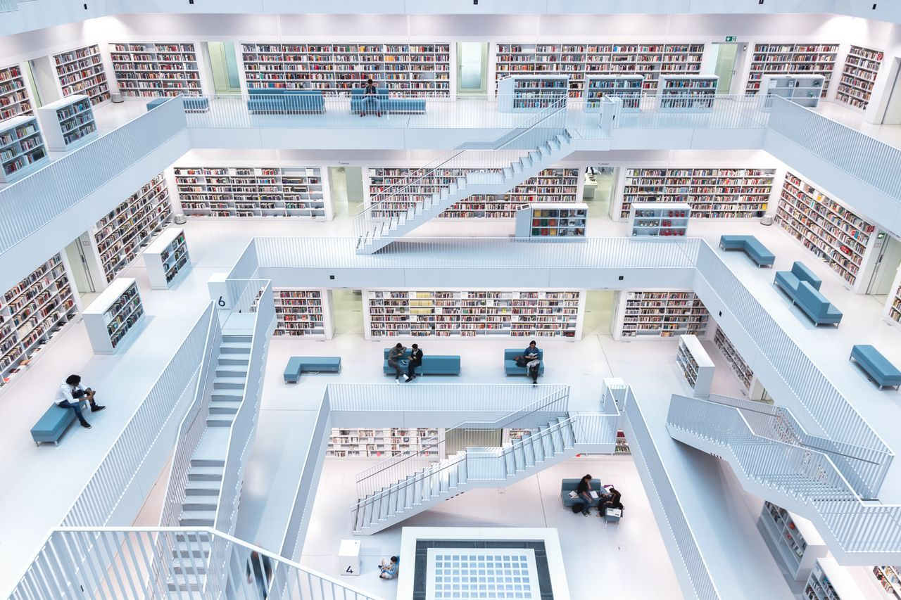 Levels Of Reading, © Norbert Fritz, First Place Winner, Cities, National Geographic Travel Photographer of the Year