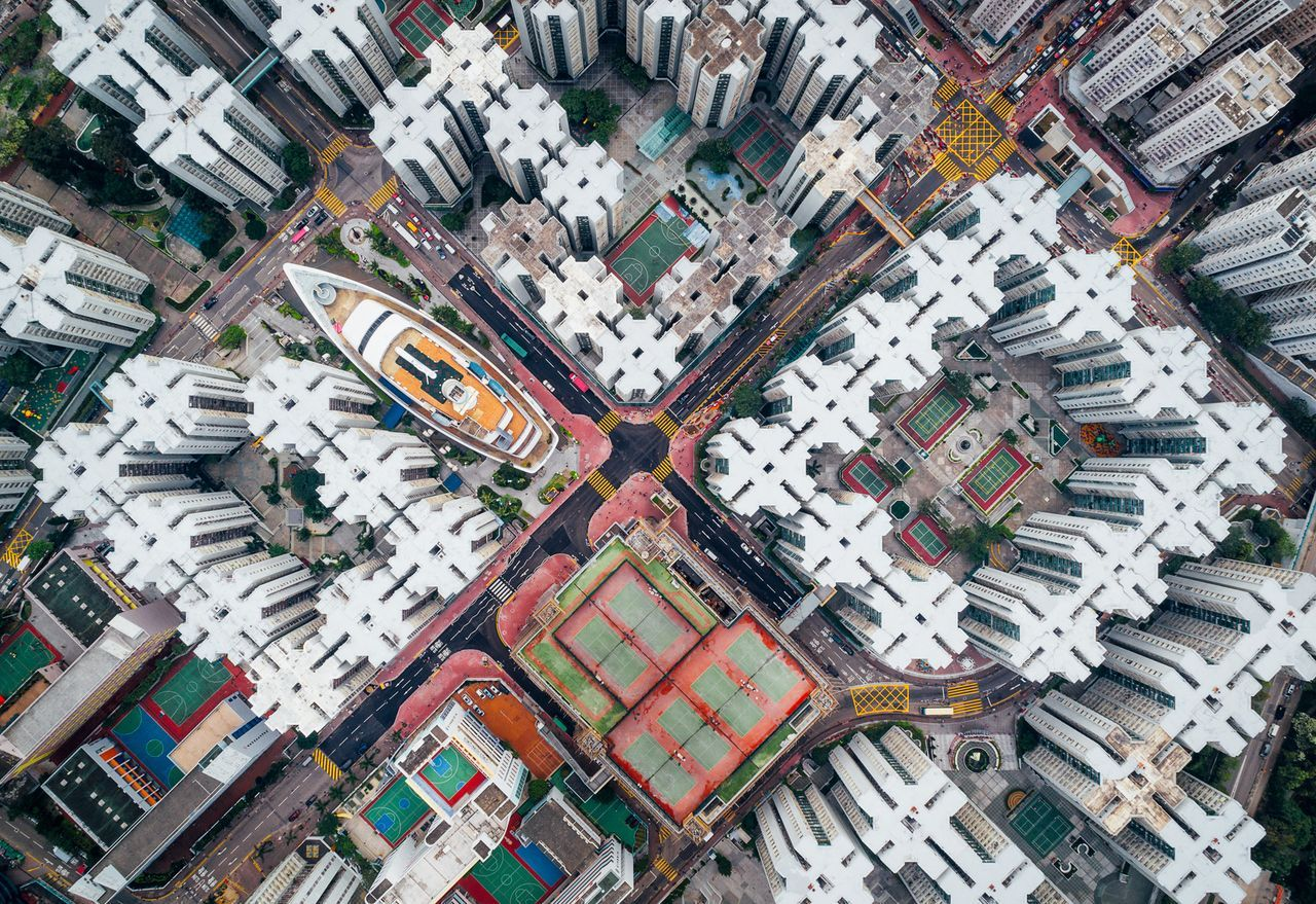 Walled City #08, © Andy Yeung, Second Place Winner, Cities, National Geographic Travel Photographer of the Year