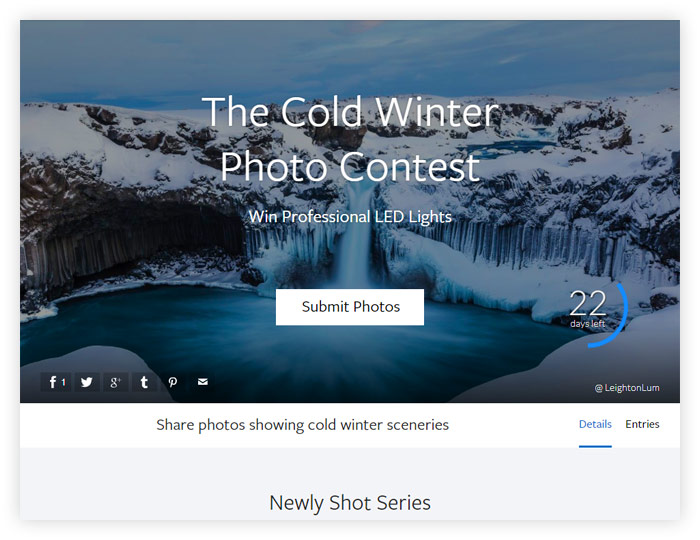 The Cold Winter Photo Contest
