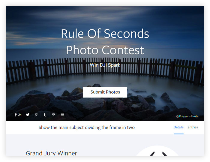 Rule Of Seconds Photo Contest