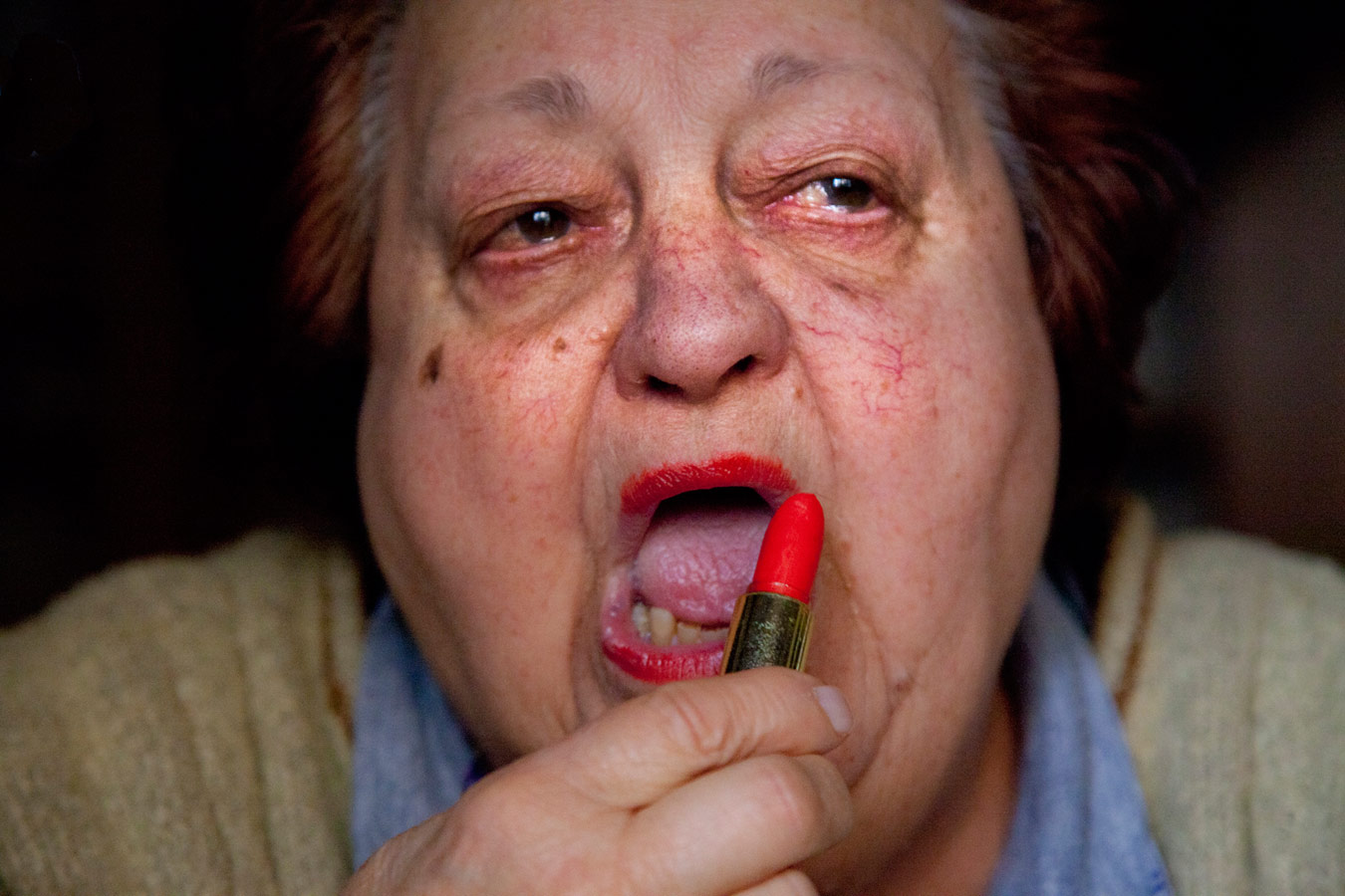 Aunt Janna's Lipstick, © Michela Carmazzi, ViewPoint Gallery International Photography Competition