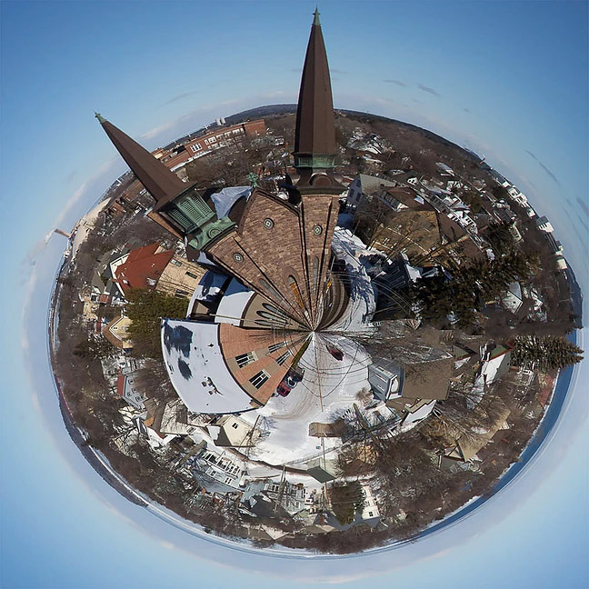 Tiny Planets, © Sophie Slamp, ViewPoint Gallery International Photography Competition