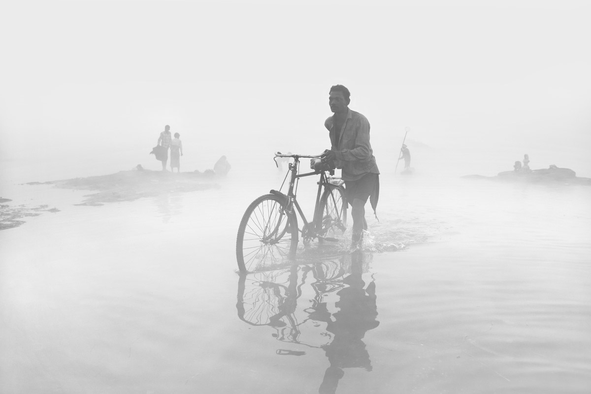 Journey Through the Fog, © Rajesh Dhar, Weather Photographer of the Year