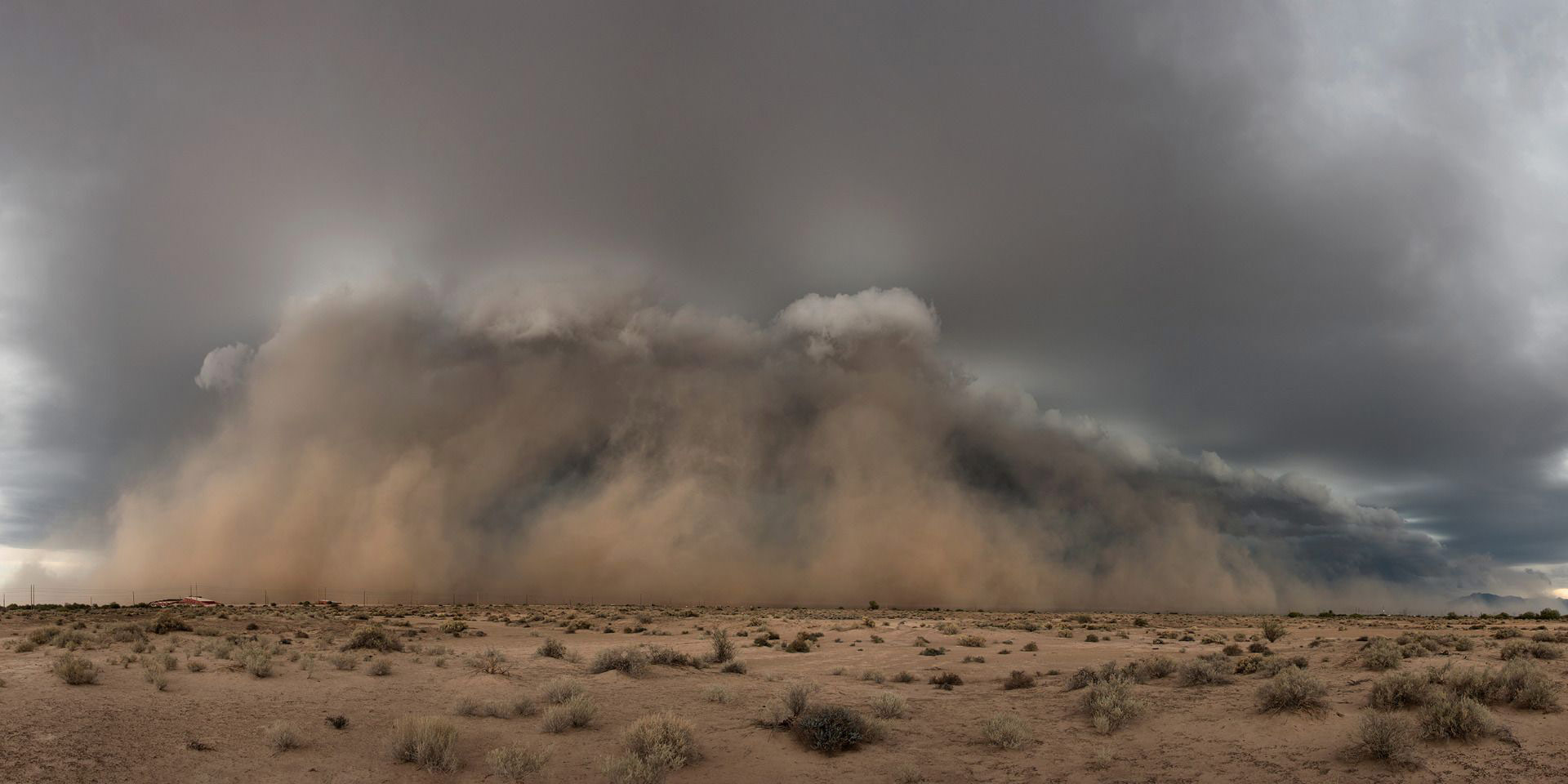 Birth of a Dust Storm, © Tina Wright, Weather Photographer of the Year