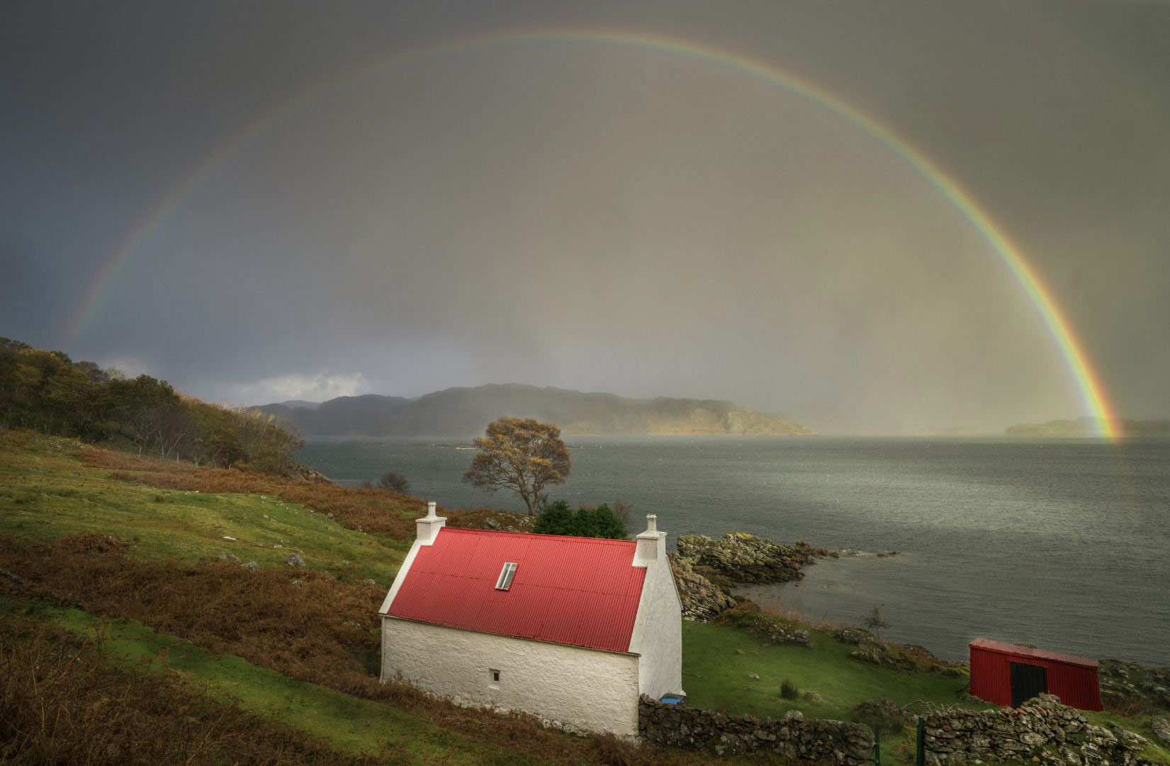 Rainbow in Torridon, © Jason Hudson, Weather Photographer of the Year