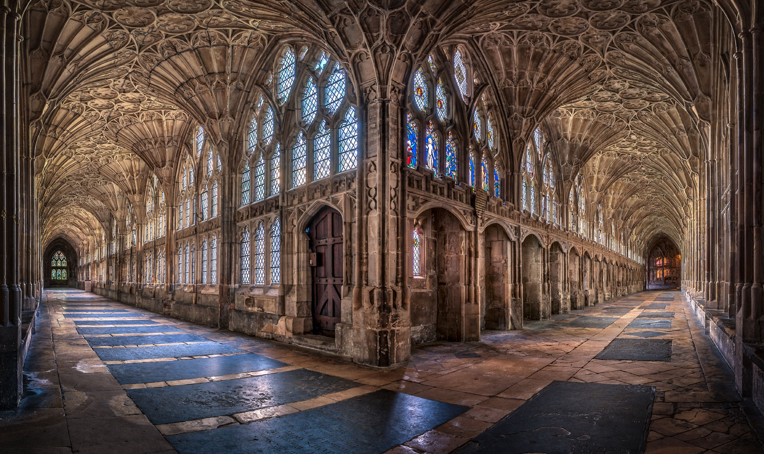 Cloisters at Gloucester Cathedral, United Kingdom, © Christopher Cherrington, 3rd Prize, Wiki Loves Monuments Photo Contest
