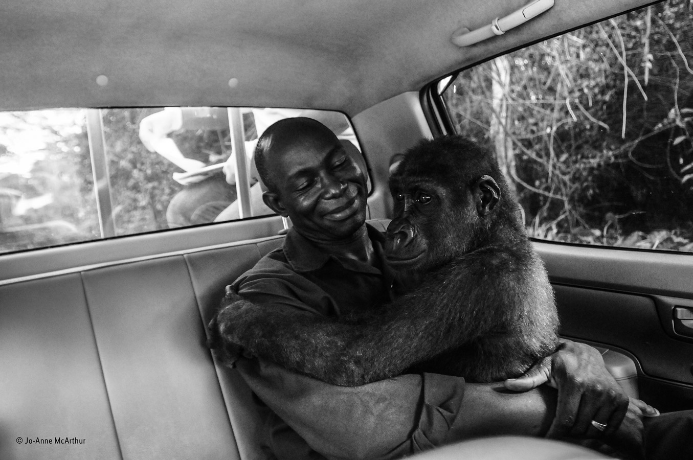 Pikin and Appolinaire, © Jo-Anne McArthur, Canada, Special Award: People's Choice, Wildlife Photographer of the Year