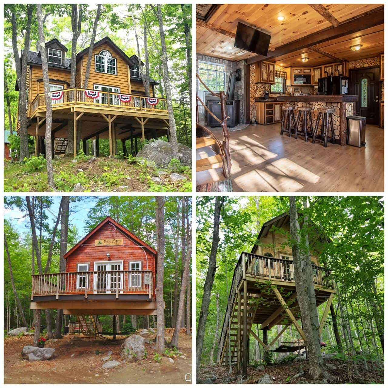 Maine Treehouse Resort