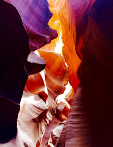Antelope Canyon, © Erin McCluskey, Women Artists Art Competition