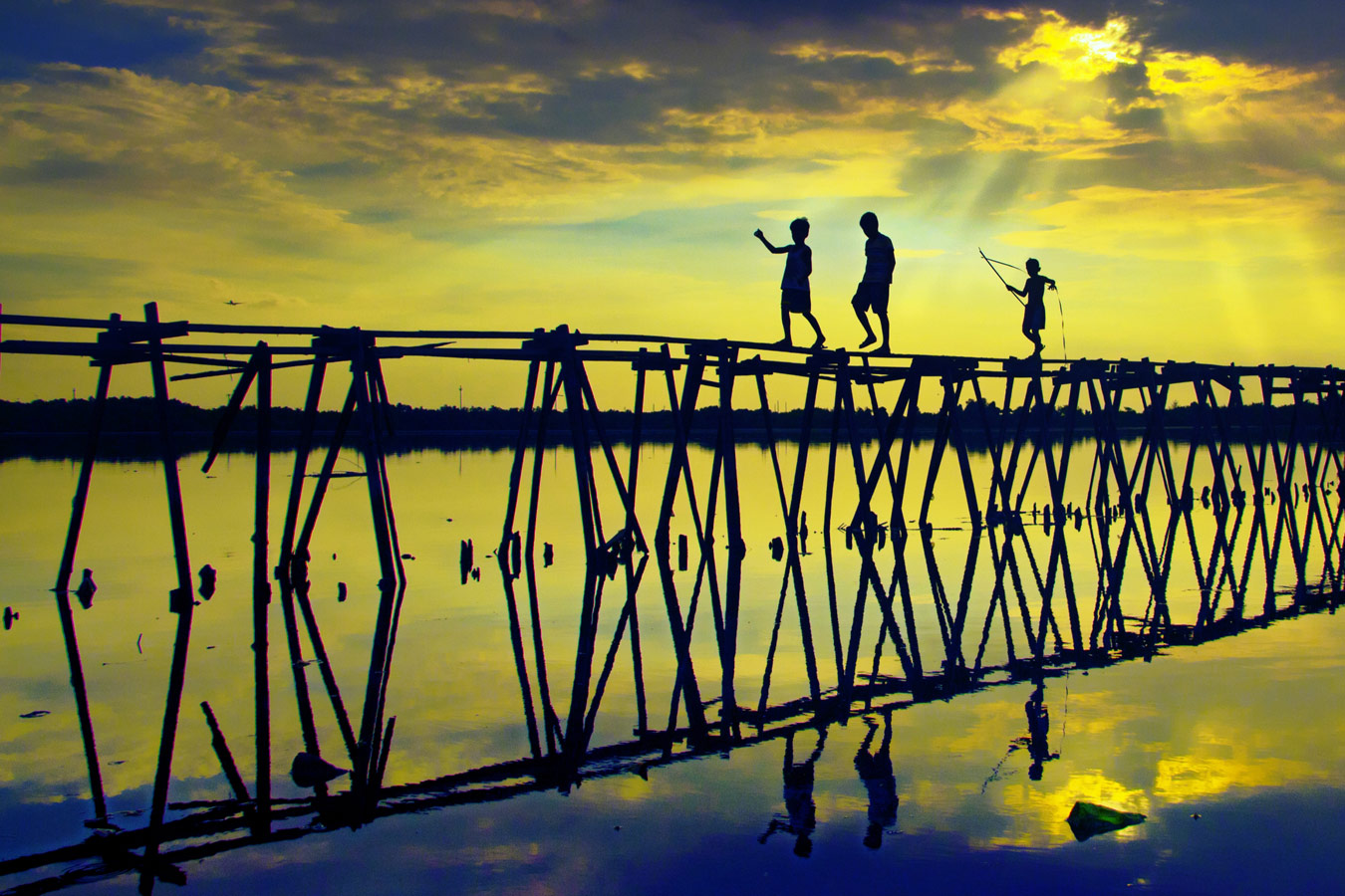Wooden Connection, © Robert Anton Aparente, Philippines, 3rd Place, World Wood Day Photo Contest