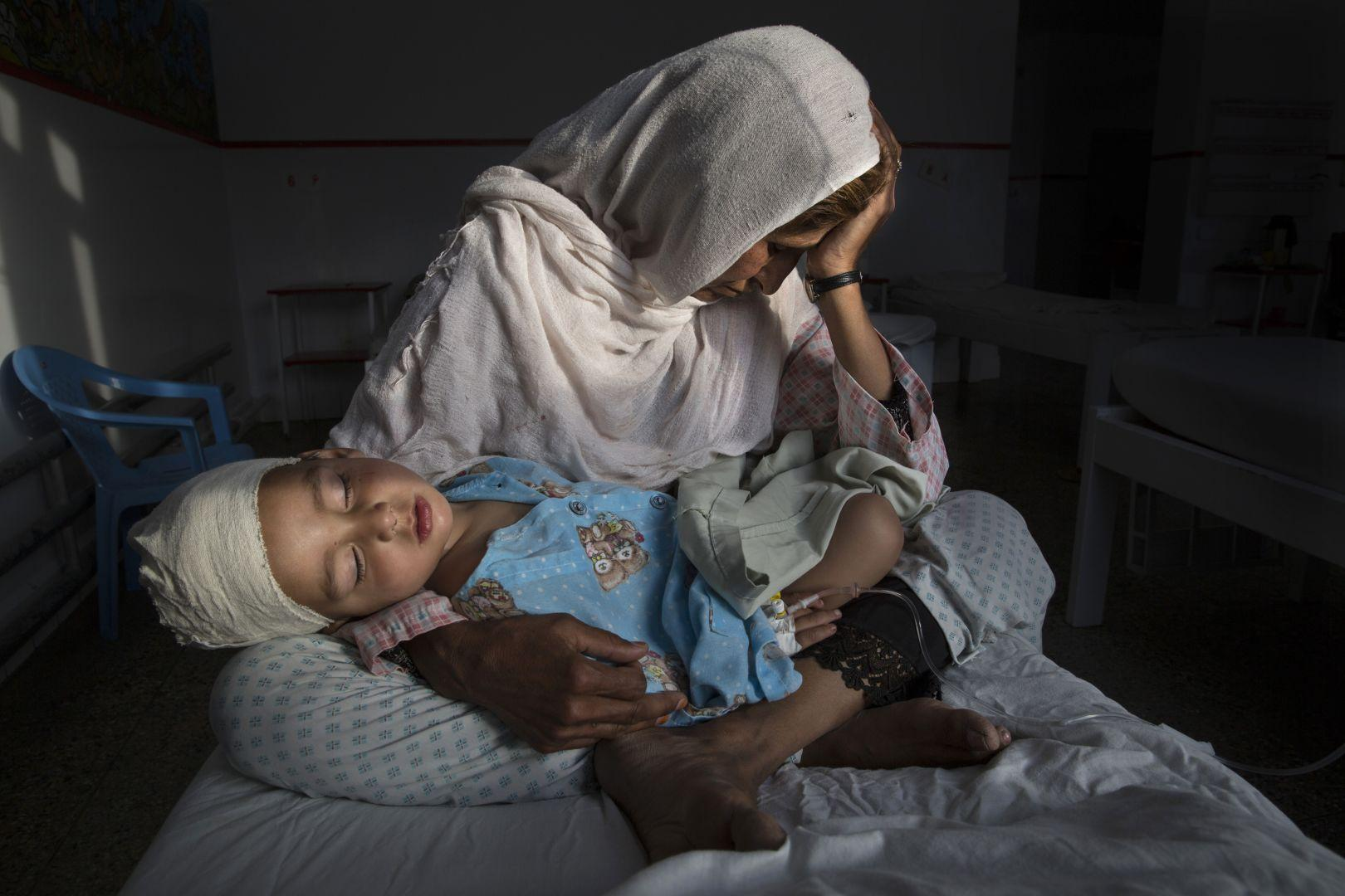 The Silent Victims of a Forgotten War, Paula Bronstein, USA, The World Press Photo Contest