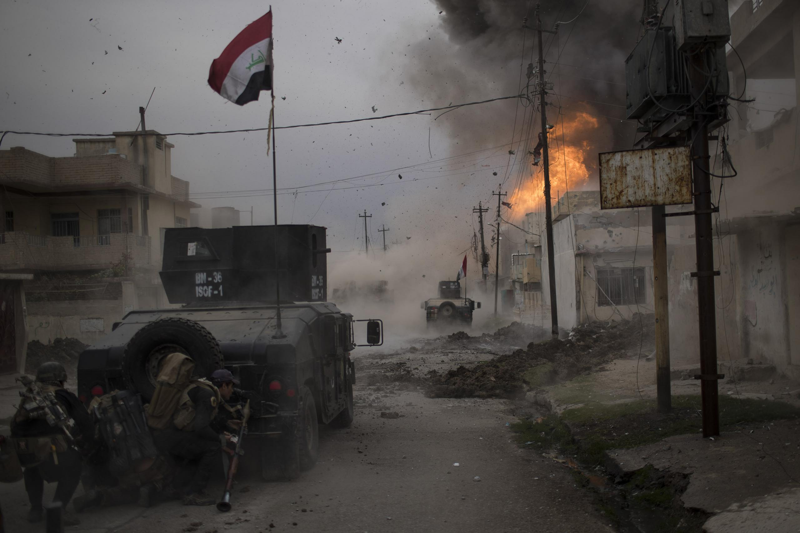 Battle for Mosul, Felipe Dana, Brazil, The World Press Photo Contest