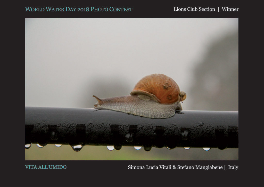 Vita All Umido, © Simona Lucia Vitali & © Stefano Mangiabene, Lions Club Section Winner, World Water Day Photo Contest