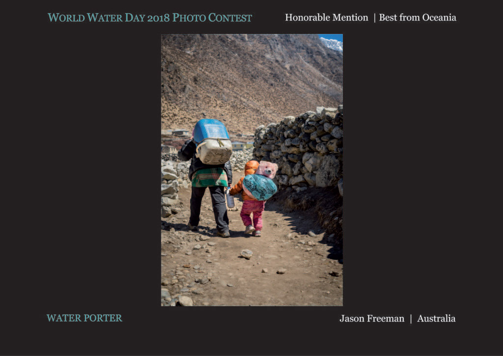 Water Porter, © Jason Freeman, Honorable Mention - Best from Oceania, World Water Day Photo Contest