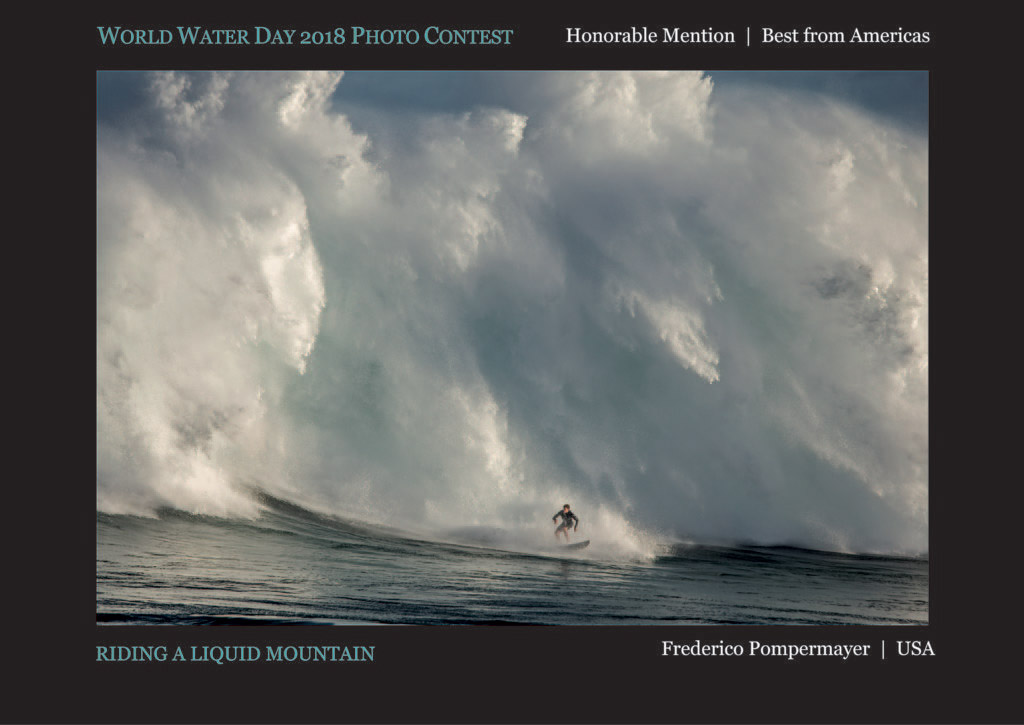 Riding a Liquid Mountain, © Frederico Pompermayer, Honorable Mention Best from Americas, World Water Day Photo Contest