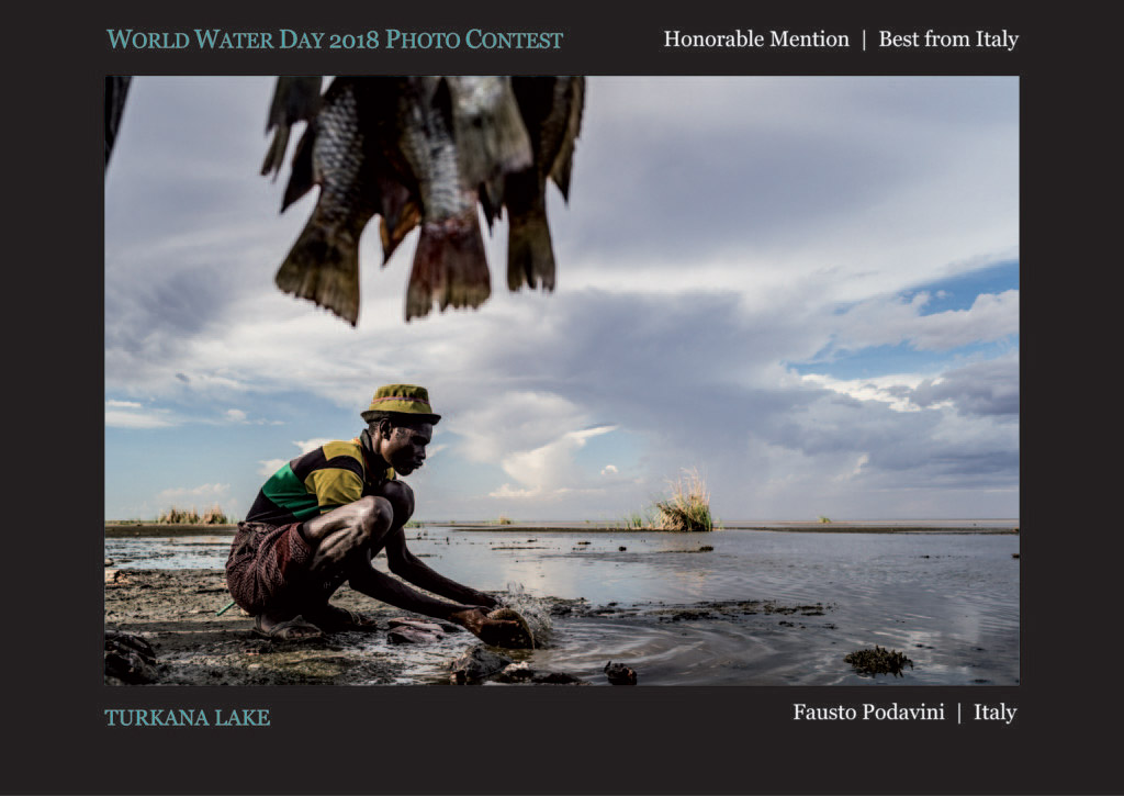 Turkana Lake, © Fausto Podavini, Honorable Mention Best from Italy, World Water Day Photo Contest