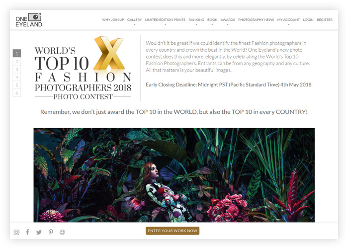 World's Top 10 Fashion Photographers - Photo Contest