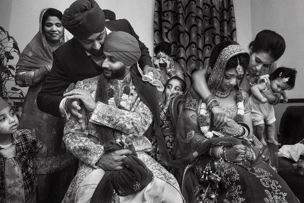 © Jugbir Dhillon, First Place : Photojournalism Division - Wedding Photojournalism, WPPI Annual Print Competition