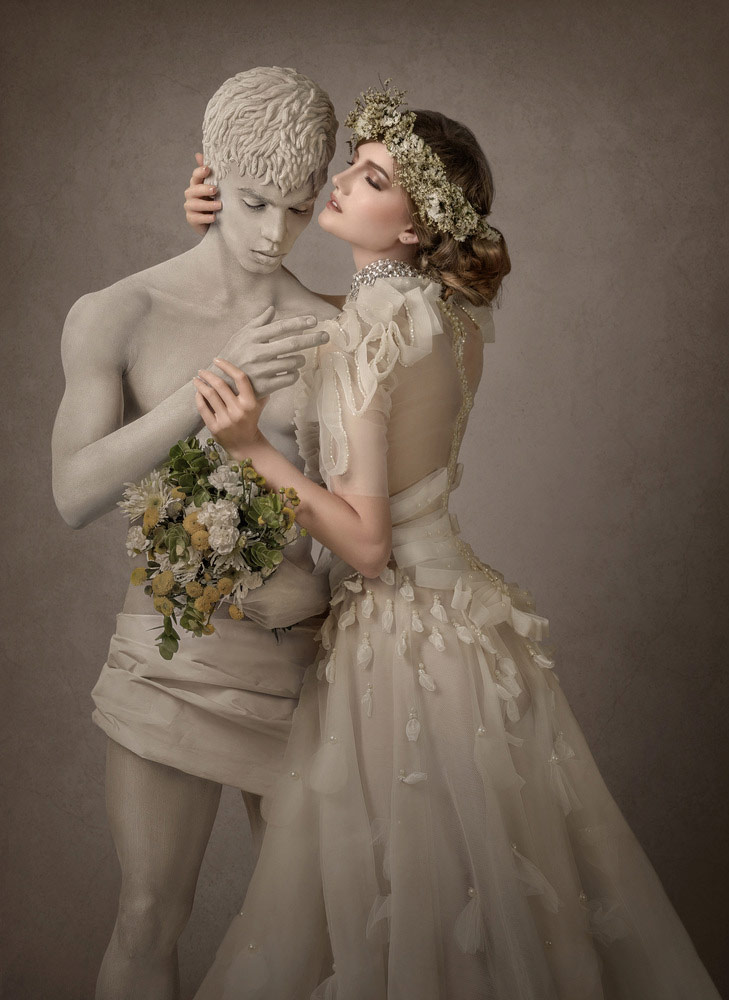 © Erich Caparas, First Place : Pre-Wedding Division - Bridal Couple/Models Together: Non-Wedding Day, WPPI Annual Print Competition