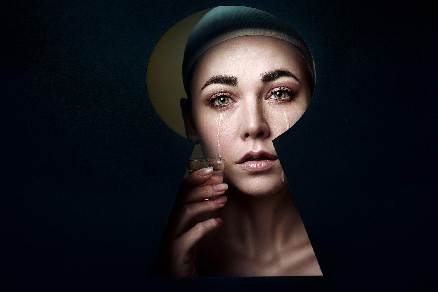 Behind Closed Doors, Elena Paraskeva, First Place : Portrait Division - Individual, 2017 WPPI First Half Competition