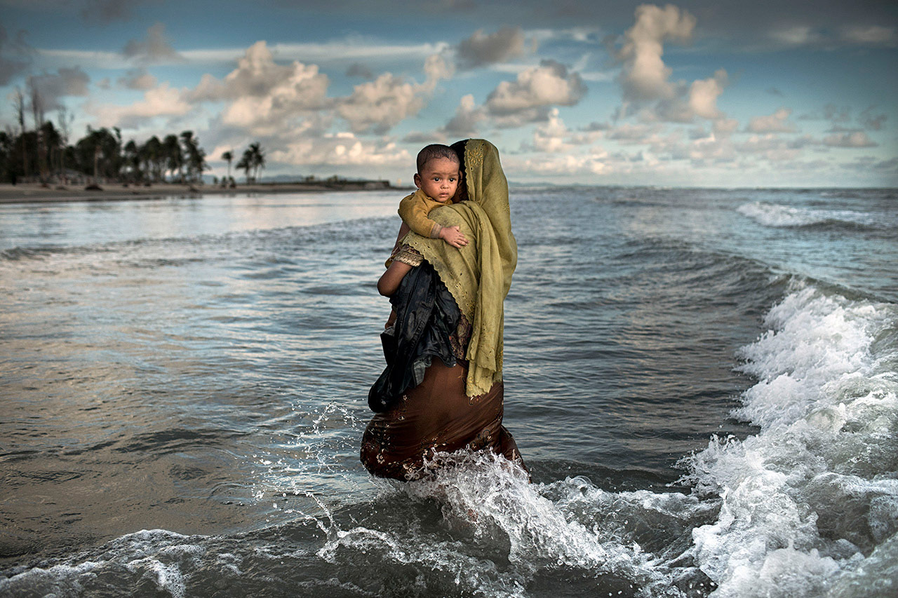 Rohingya Exodus, © KM Asad, Bangladesh, Runner-Up, Xposure International Competitions