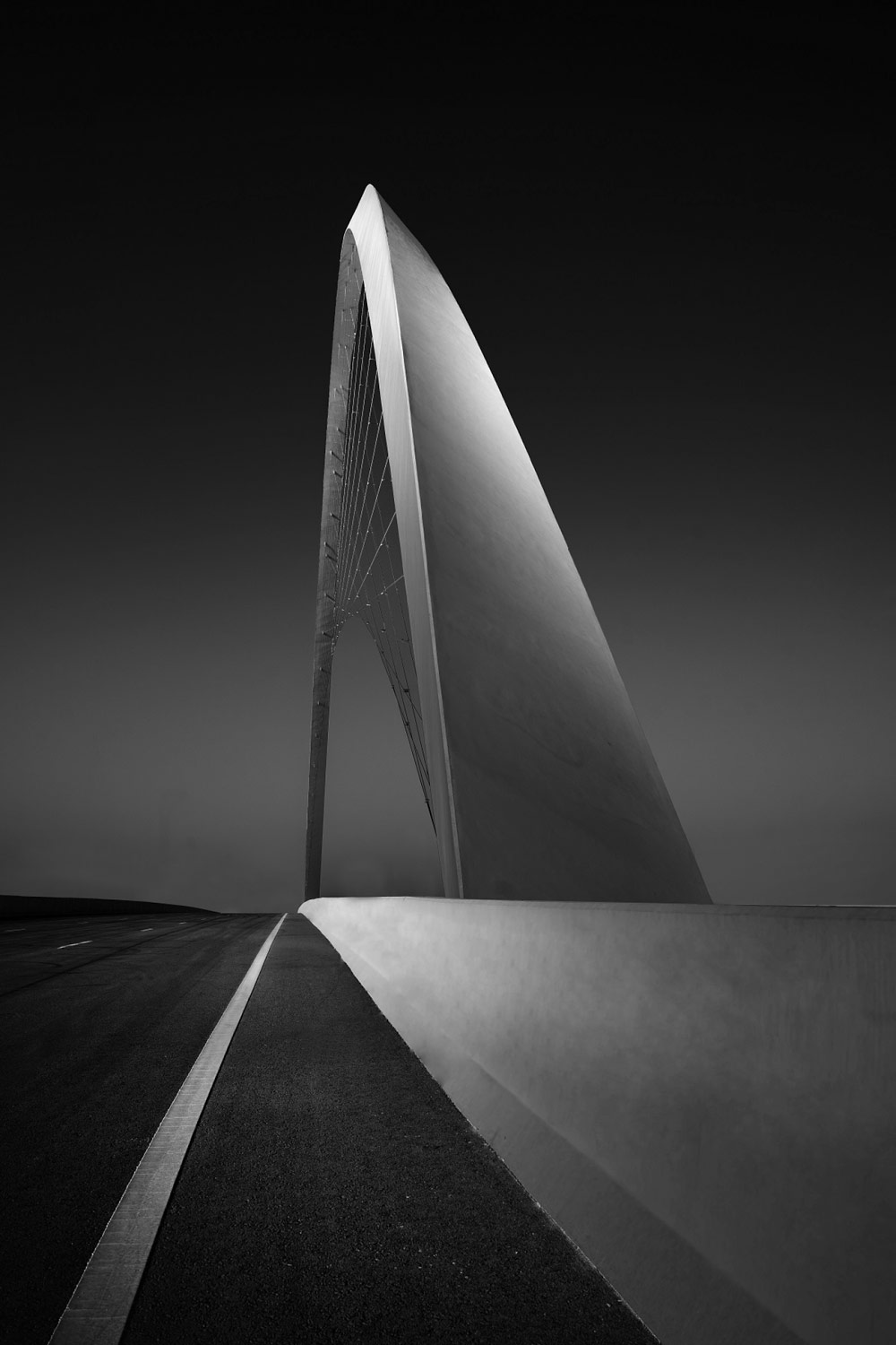 A Look at a Bridge I, © Minas STRATIGOS, 1st Place, Non-Professional - Architectural, Zebra Awards - TZIPAC Black and White Photographer of the Year