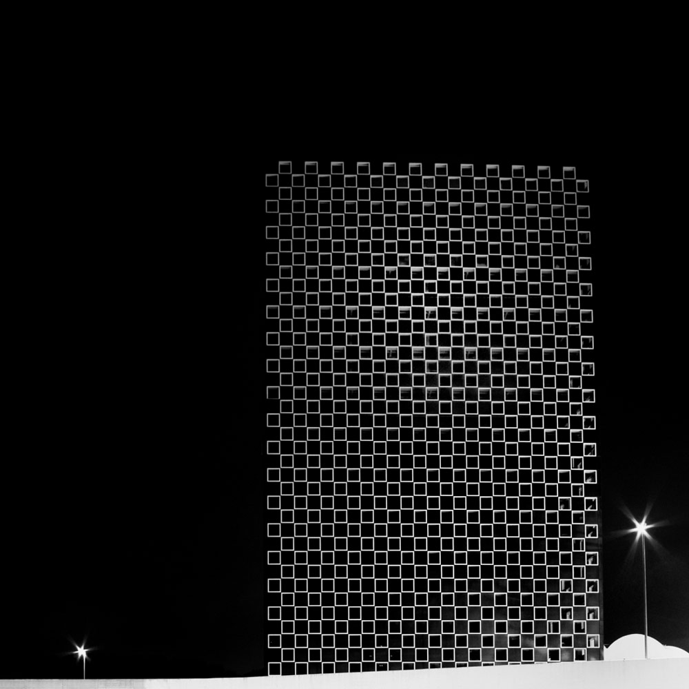 Monolith, © Aurelio BORMIOLI, 3rd Place, Non-Professional - Architectural, Zebra Awards - TZIPAC Black and White Photographer of the Year
