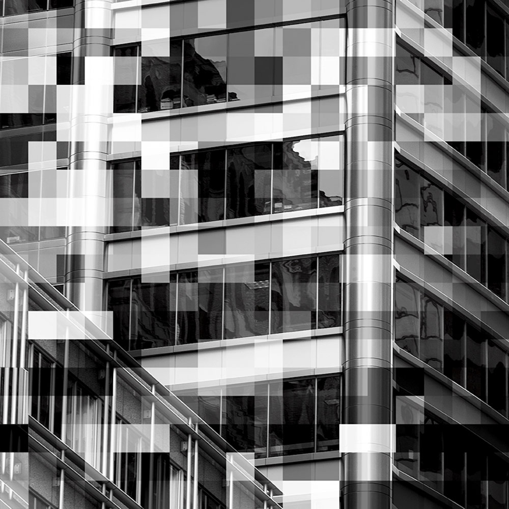 FACADE, © Gail MANCUSO, 3rd Place, Professional - Architectural, Zebra Awards - TZIPAC Black and White Photographer of the Year