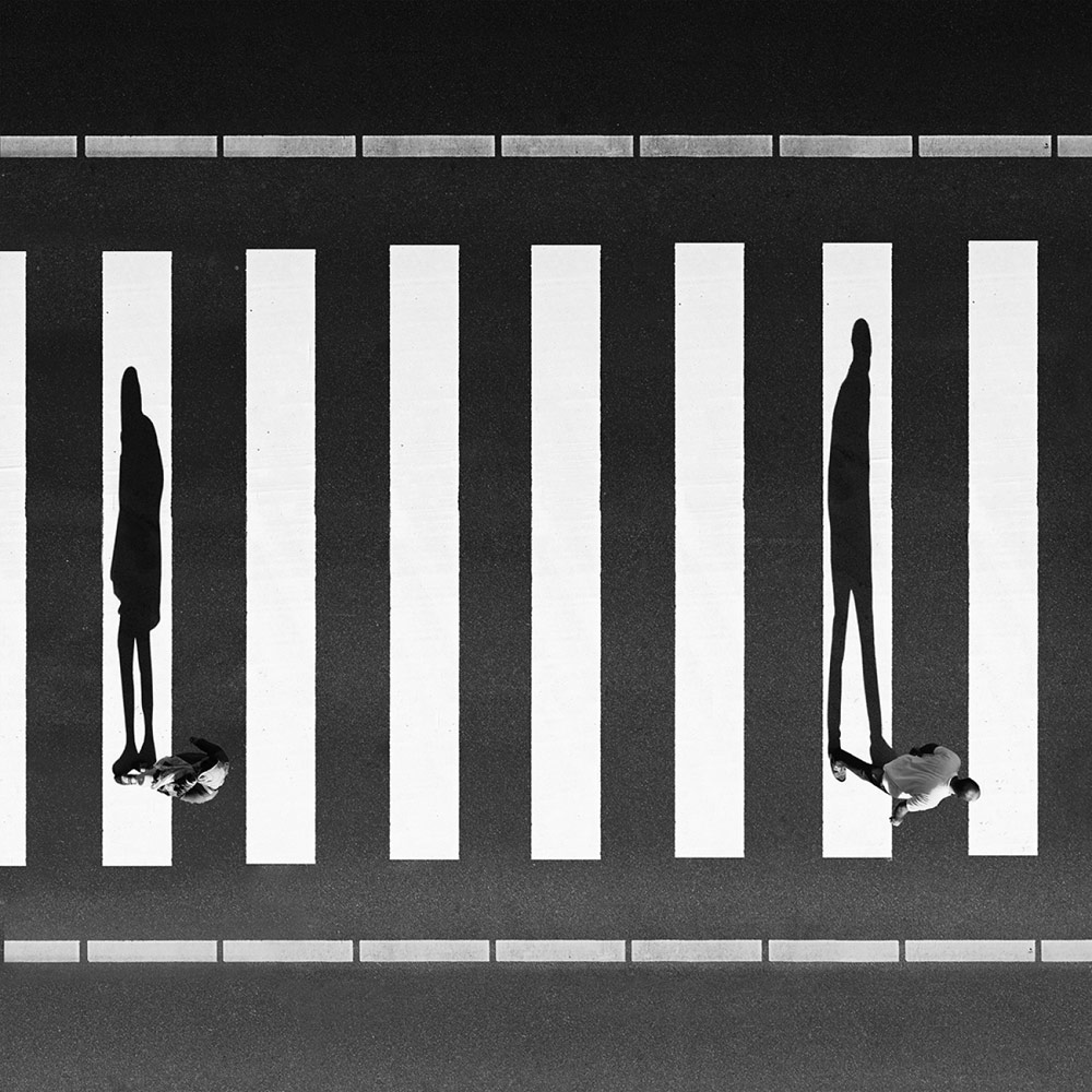 Separation, © Milad SAFABAKHSH, 3rd Place, Professional - Fine Art and Open, Zebra Awards - TZIPAC Black and White Photographer of the Year